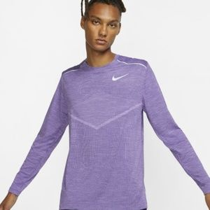 Nike Tech Knit Ultra Long Sleeve Purple